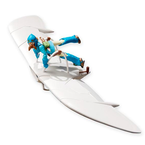 Nausicaa of the Valley of the Wind - Nausicaa and Glider Full Action Figure
