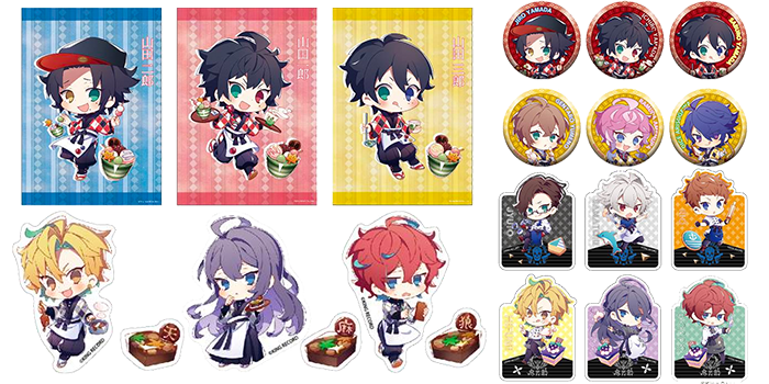 Hypnosis Mic x Sweets Paradise Collaboration Cafe