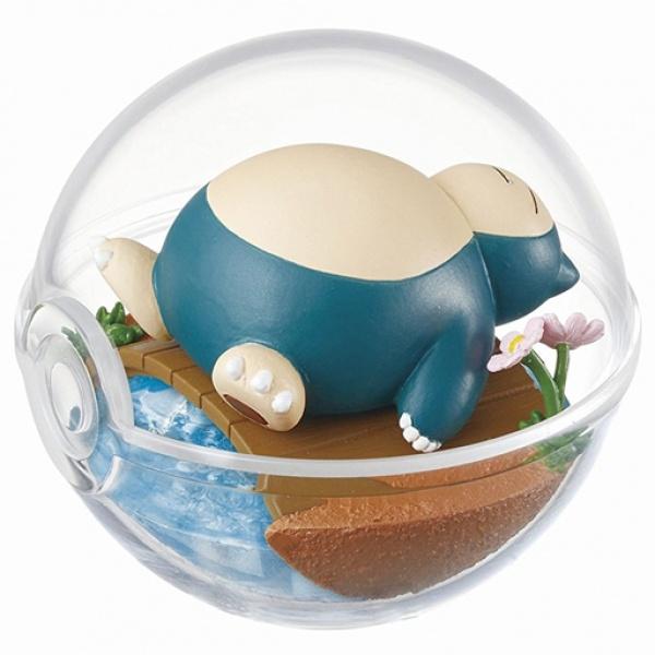 Snorlax Terrarium (Pokemon Terrarium Collection 01)