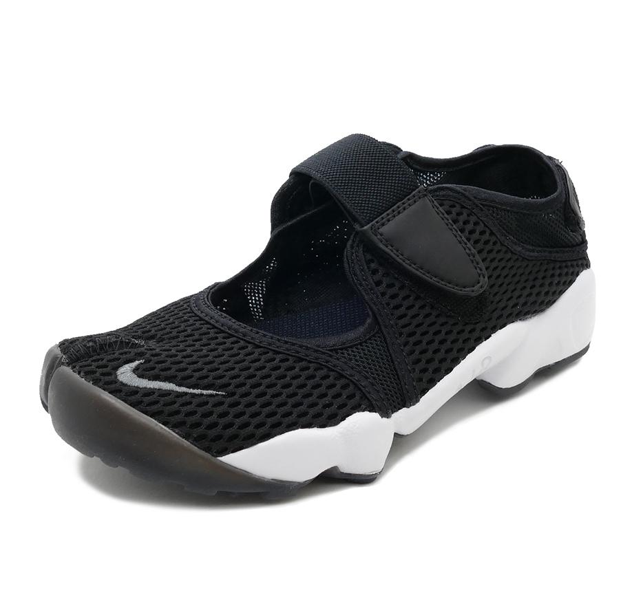 Women's Nike Air Rift Breathe Black & White 848386-001