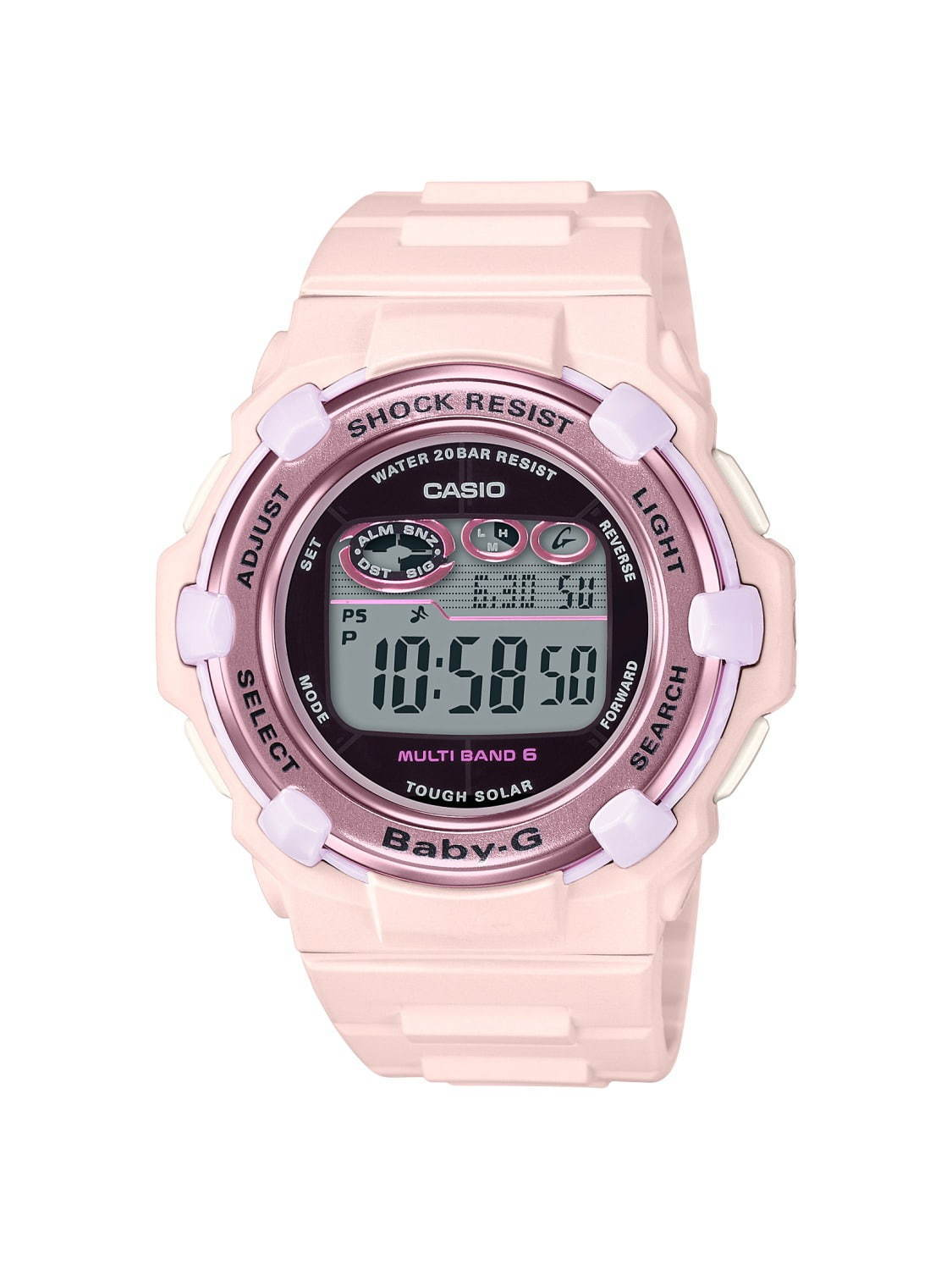 Casio BABY-G Cherry Blossom Color 2020 BGR-3000CB-4JF Pastel Pink Watch