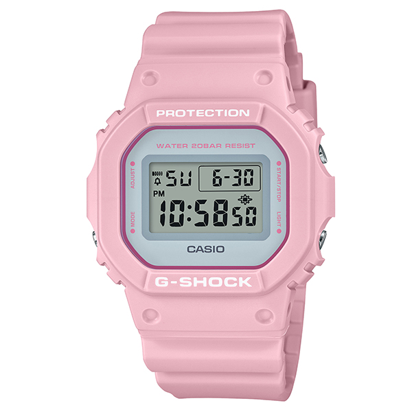 Casio G-SHOCK Spring Color Series 2020 DW-5600SC-4JF Pink Watch