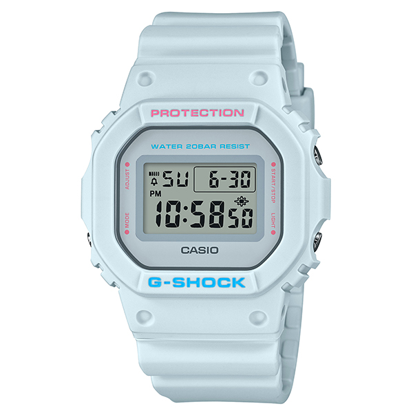 Casio G-SHOCK Spring Color Series 2020 DW-5600SC-8JF Gray Watch