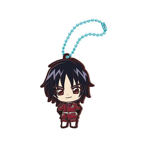Mobile Suit Gundam Seed Destiny Shin Asuka Gashapon Rubber Mascot