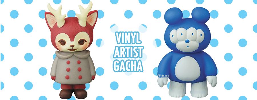 Vinyl Artist Gacha by MediCom Toy