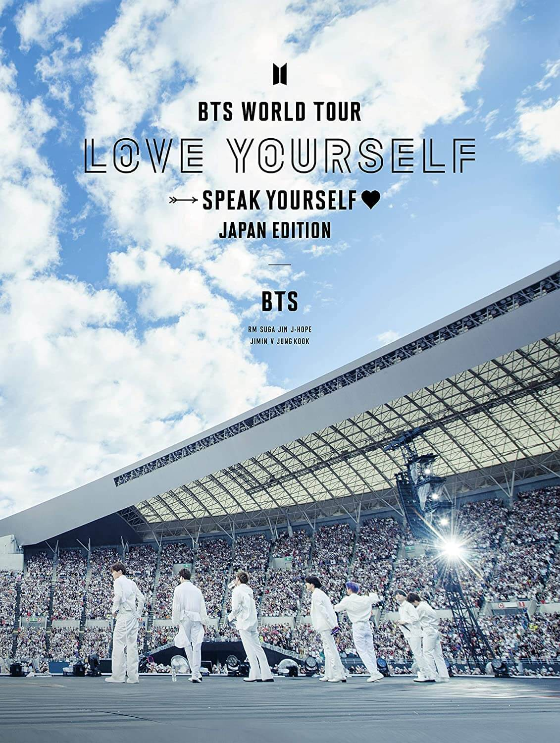 BTS World Tour 'Love Yourself: Speak Yourself'- Japan Edition Blu-ray