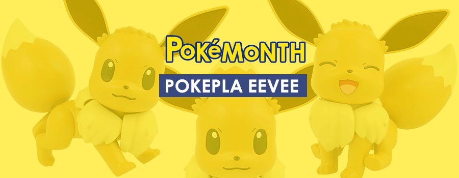 PokePla: Eevee Model Kit – Build your very own Eevee!