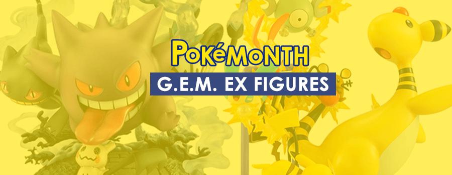 Pokemon G.E.M. EX Series Figures