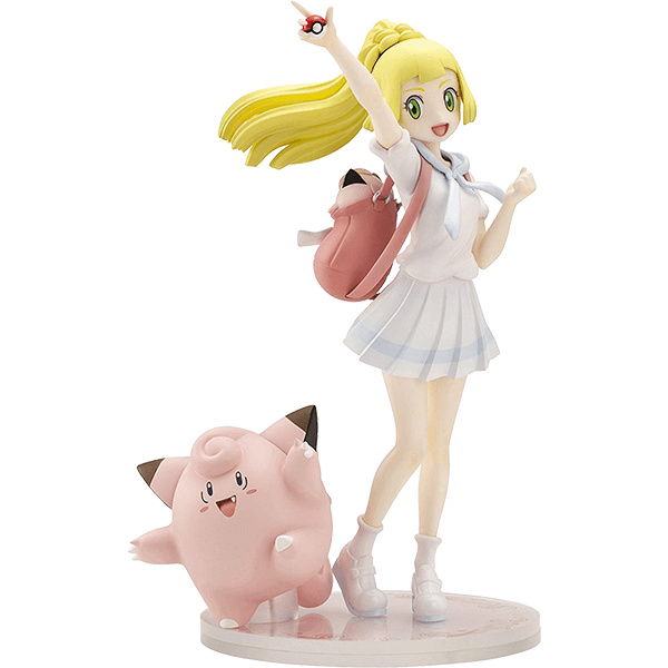 #Lillie & Clefairy Pokemon Center Original Figure by Kotobukiya
