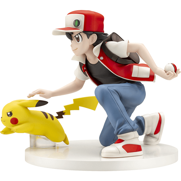 Red & Pikachu Pokemon Center Original Figure by Kotobukiya