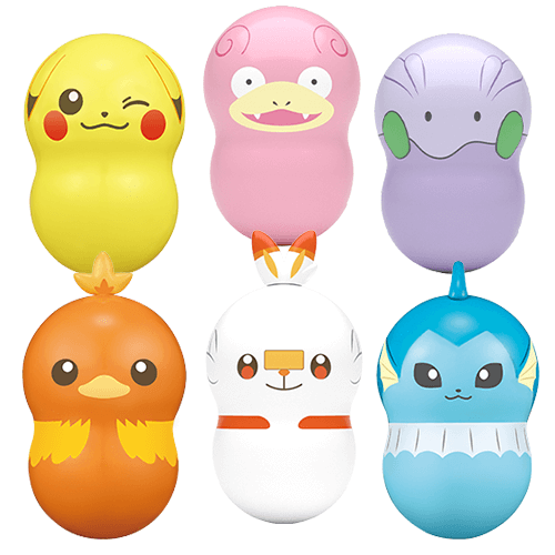 Pokemon Coo'nuts Shokugan Series