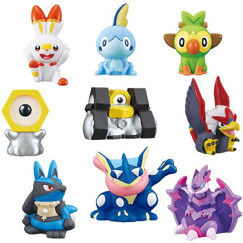 Pokemon Kids Shokugan Series