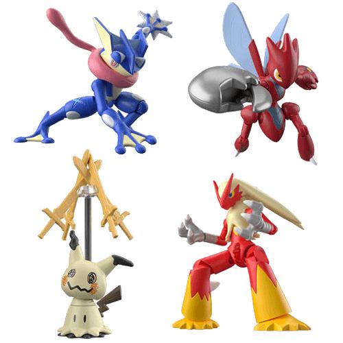 Pokemon Shodo Shokugan Series