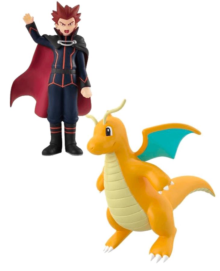 Pokemon Scale World Kanto Region Lance and Dragonite Set