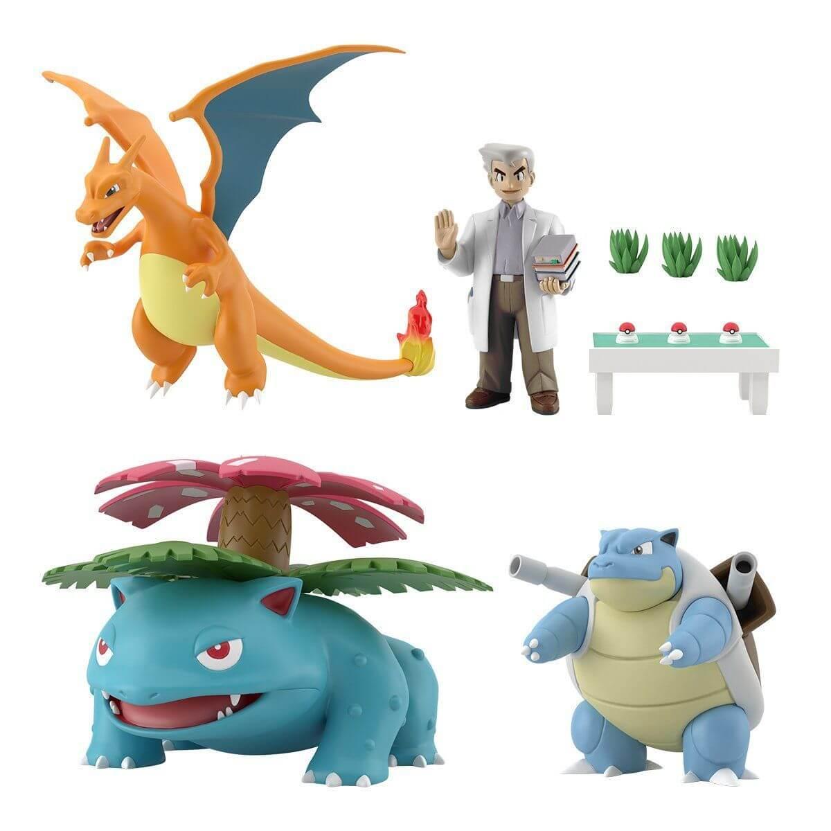 Pokemon Scale World Professor Kanto Region Professor Oak Set