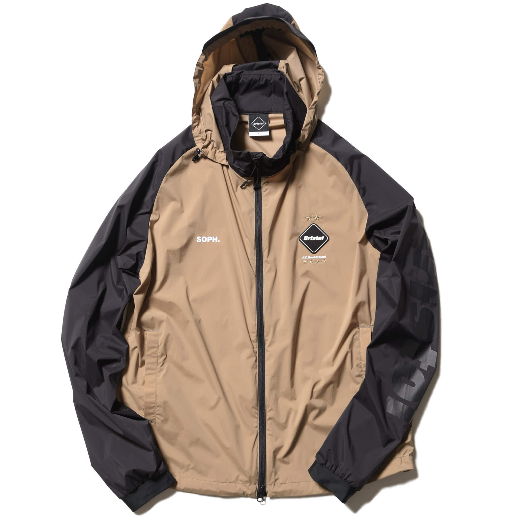 F.C. Real Bristol S/S 2020 Collection Stretch Light Weight Hooded Blouson