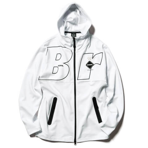 F.C. Real Bristol April 13 2020 S/S Drop Relax Fit Zip Up Hoodie
