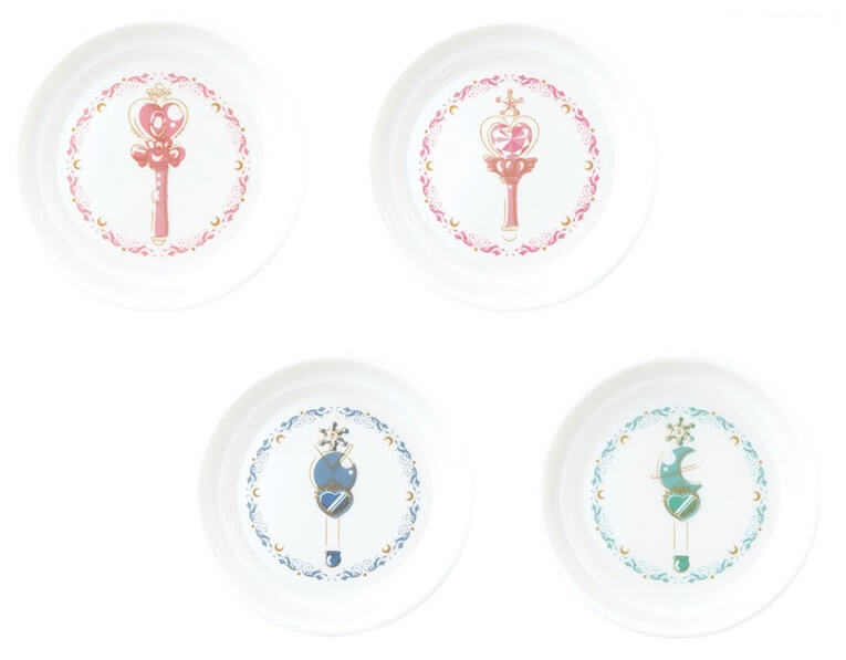 Sailor Moon Ichiban Kuji Otomari-kai Plate Set