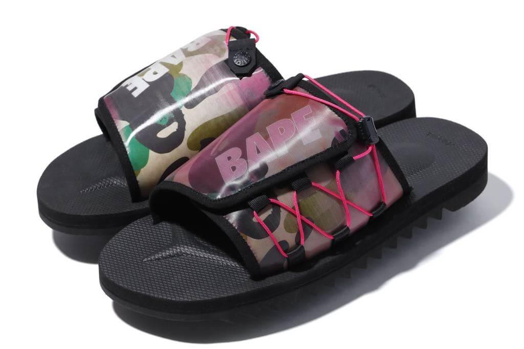BAPE x SUICOKE 1st Camo DAO Sandals