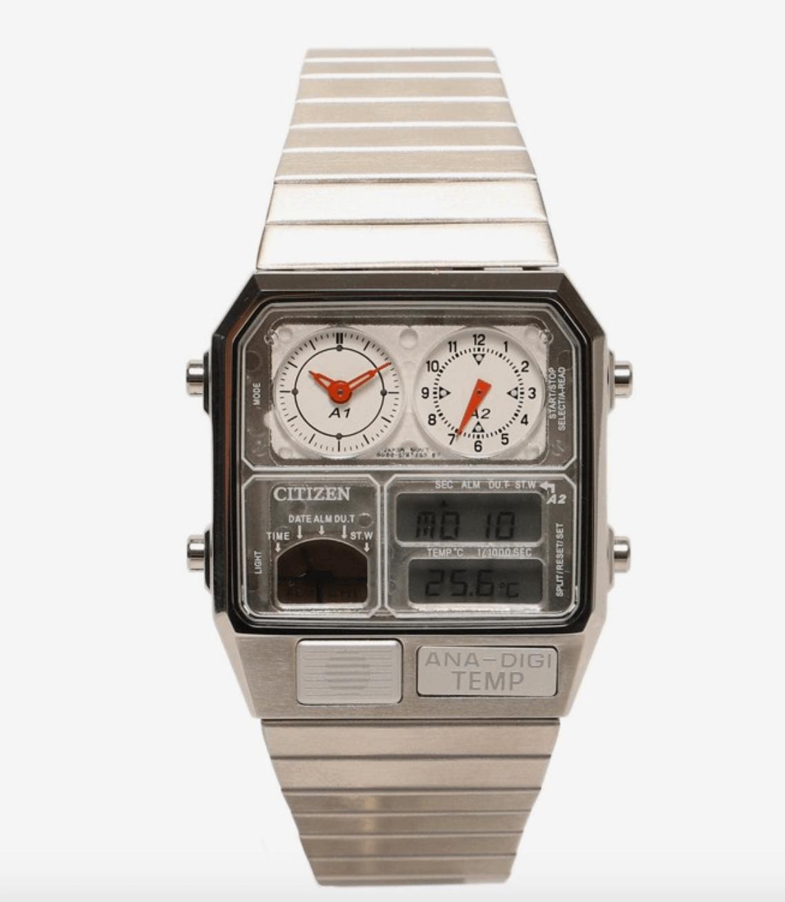 Citizen x BEAMS Ana-Digi Temp Wristwatch 2020