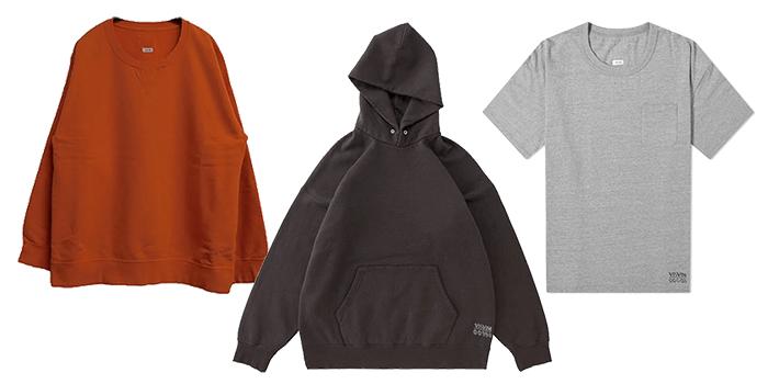 Visvim Jumbo Series - Jumbo Hoodie, Jumbo Sweatshirt, and Jumbo T-shirt