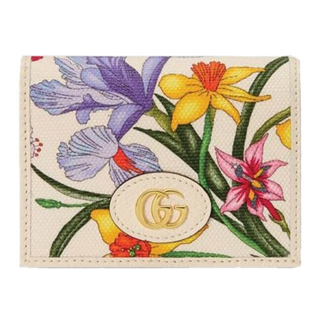 Gucci Flora Collection Japan Limited Card Case Wallet