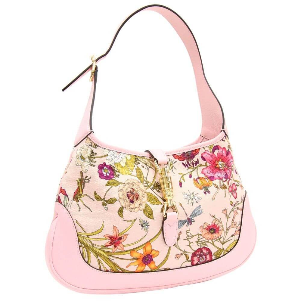 Gucci Flora Collection Japan Limited Jackie Bag