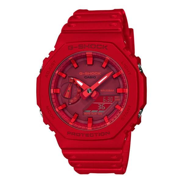 Casio G-SHOCK GA-2100-4AJF All-red Watch