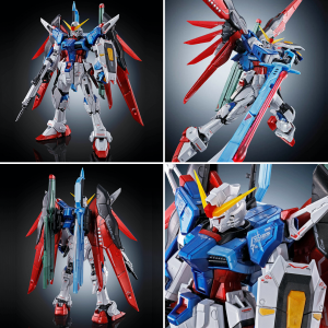 RG 1/144 Destiny Gundam (Titanium Finish) Model Kit