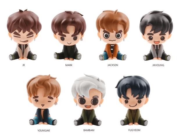 GOT7 Gotoon Baby Figure set