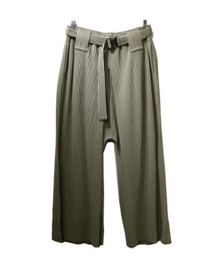 Issey Miyake Homme Plisse Pleated Wide Pants