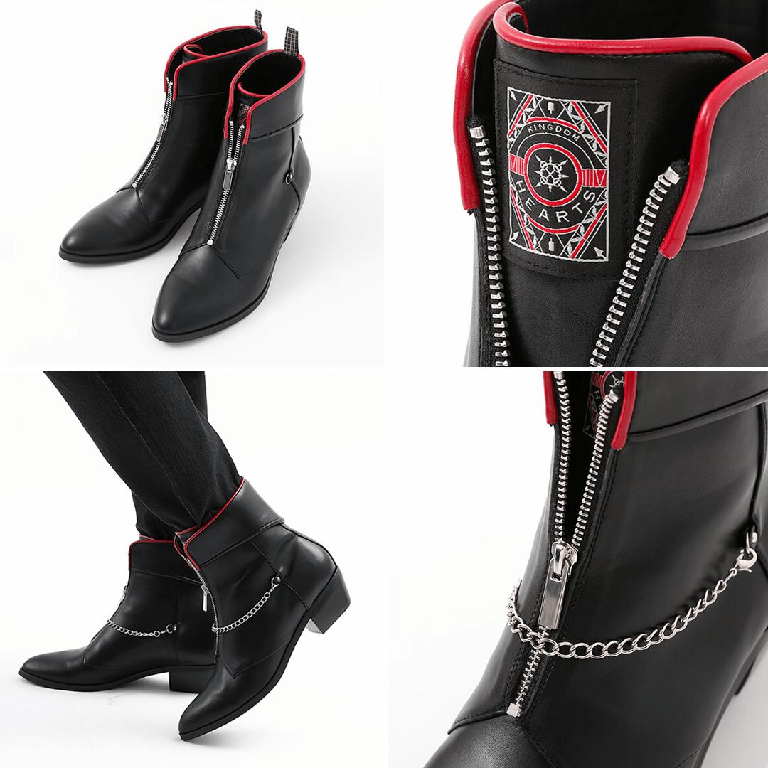 Kingdom Hearts III x Super Groupies - Axel Boots