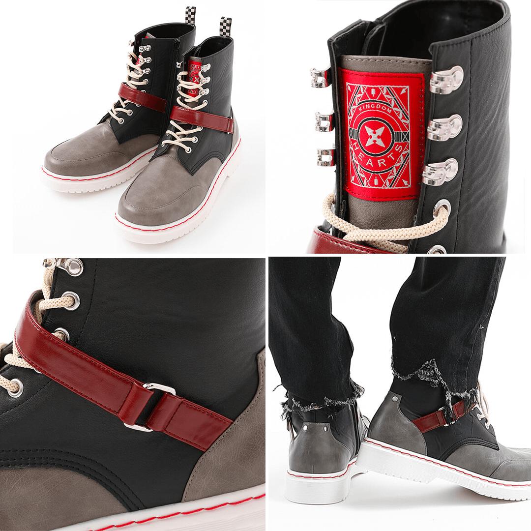 Kingdom Hearts III x Super Groupies - Roxas Boots