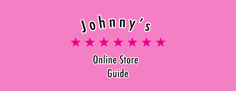 Johnny's Online Store Guide – How to buy Johnny's Merch
