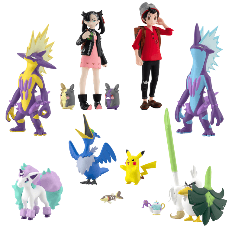 Pokemon Scale World – Galar Region 02 Set