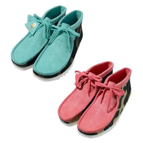 BAPE x Clarks - Wallabee Boots