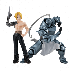 Fullmetal Alchemist Edward Elric and Alphonse Elric Pop Up Parade