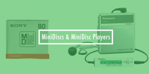 Buying MiniDisc Players & MiniDiscs from Japan