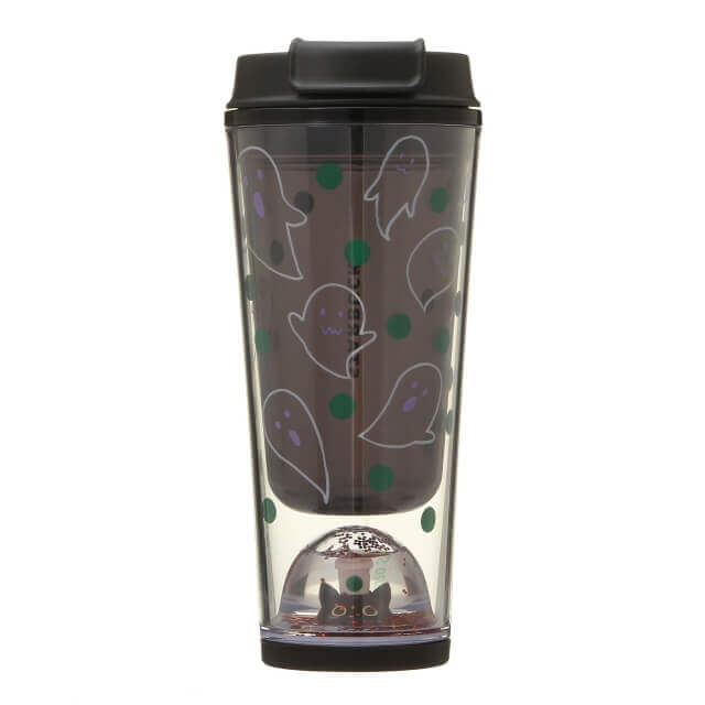 Starbucks Japan Halloween 2020 Snow Globe Tumbler Ghost