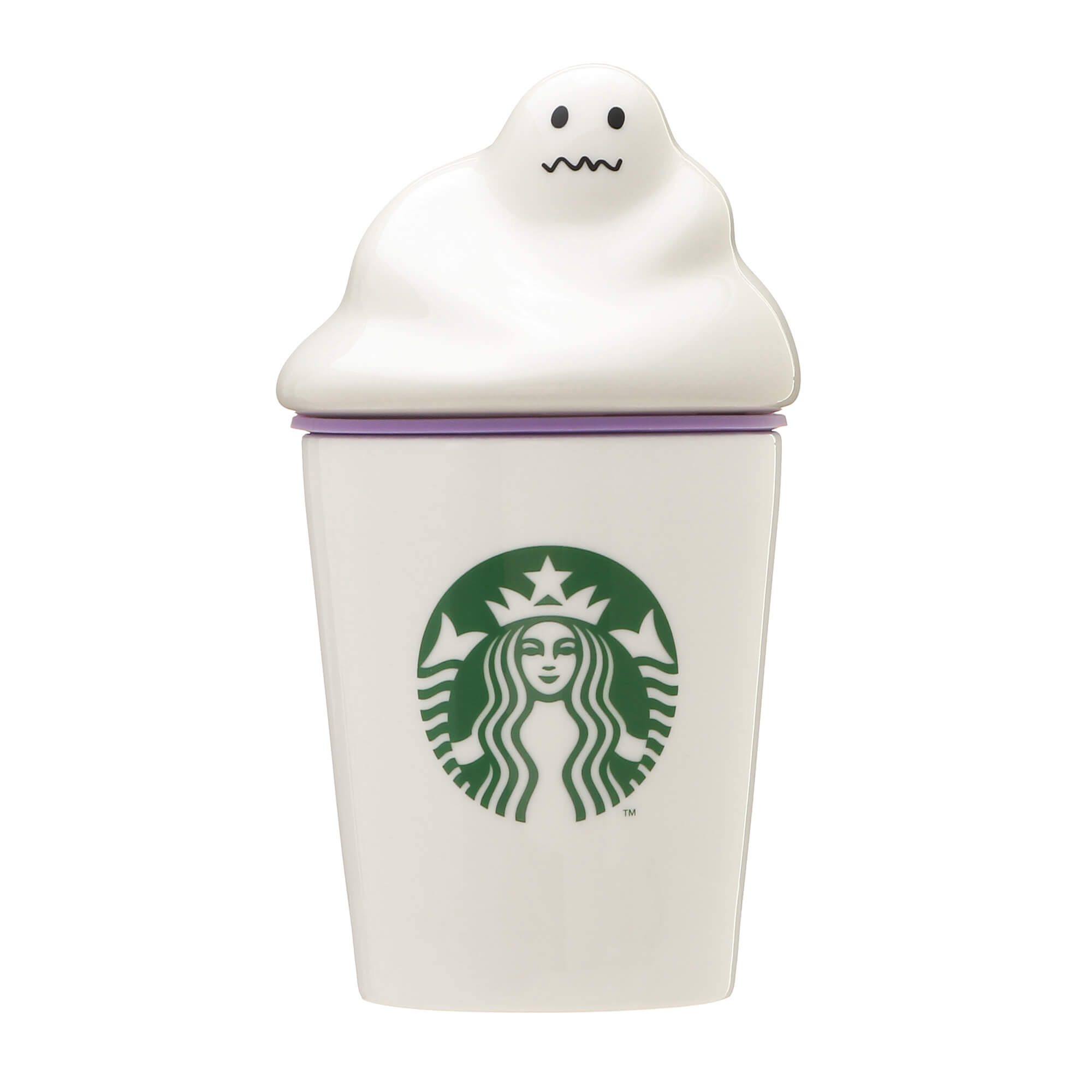 Starbucks Japan Halloween 2020 Ghost Whip Canister