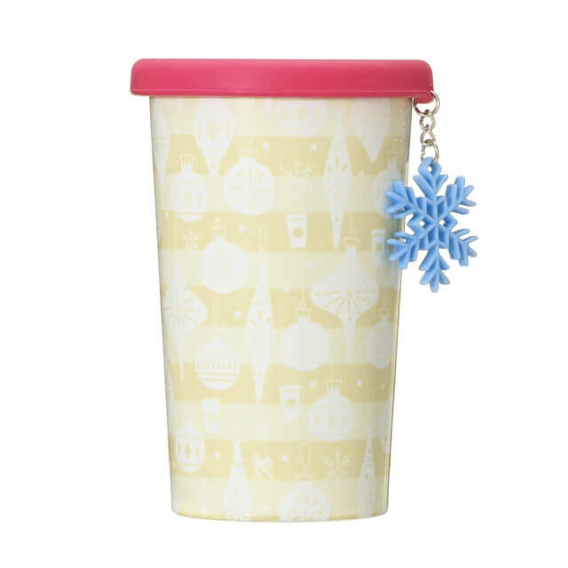 Holiday 2020 Silicon Lid Stainless Cup Charm Snow