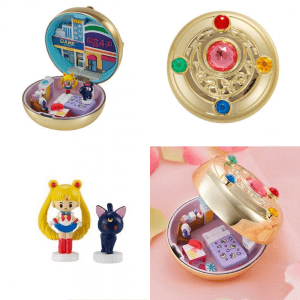 Sailor Moon Compact House Premium Collection – Transformation Brooch
