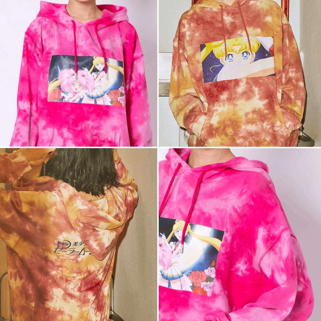 Sailor Moon Eternal x Jouetie Scene Tie-dye hoodie