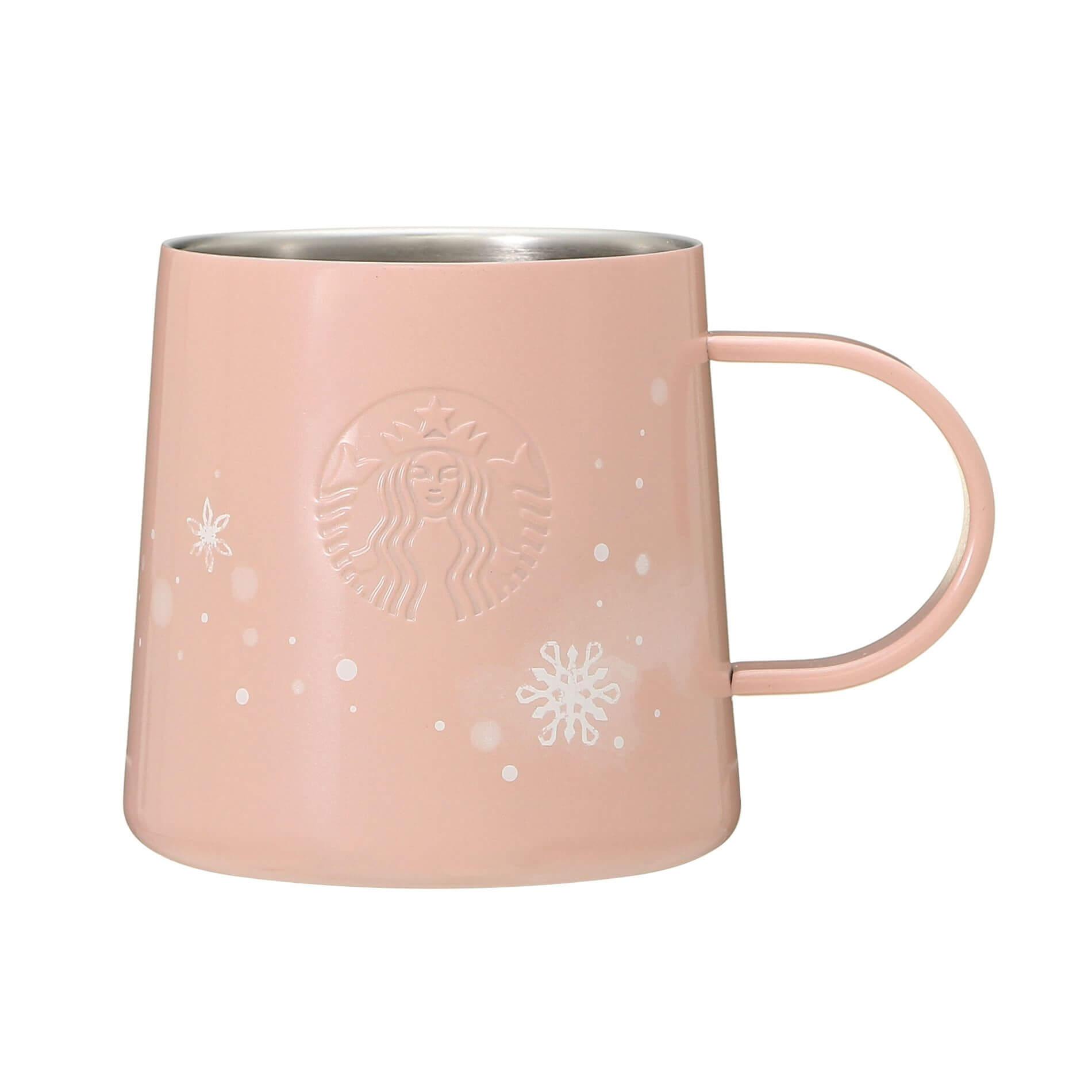 Holiday 2020 Stainless Mug Pink