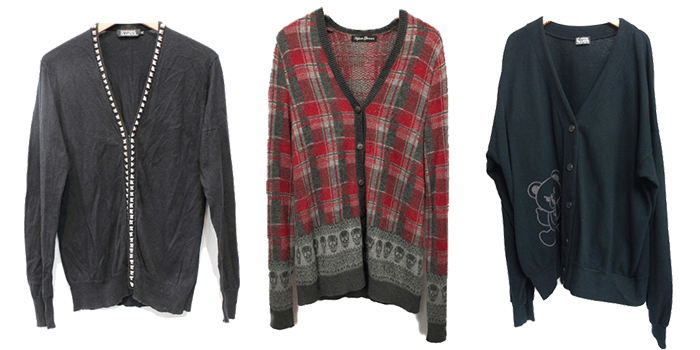 Hysteric Glamour Vintage-Inspired Cardigans