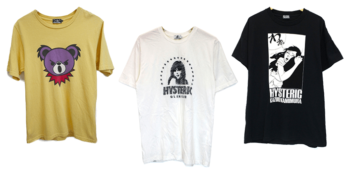 Hysteric Glamour Iconography T-Shirts