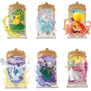 Pokemon Re-Ment – Stained Glass Collection