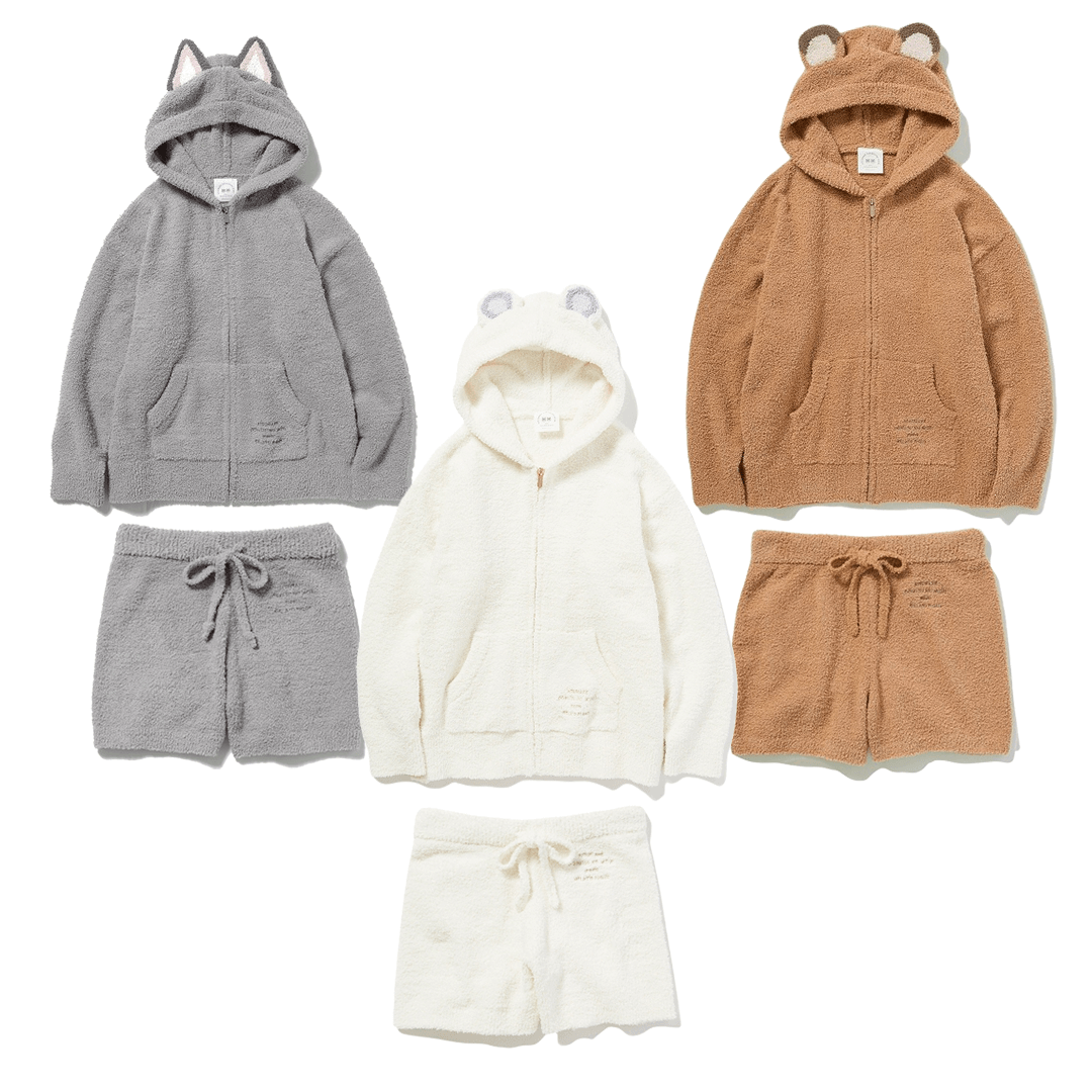 gelato pique x Animal Crossing: New Horizons Fleece Sets