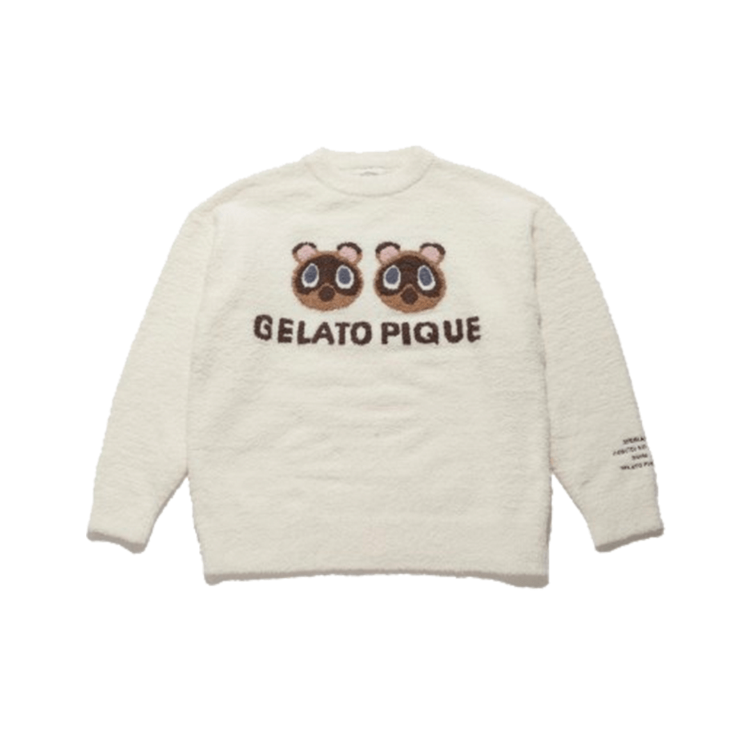 gelato pique x Animal Crossing: New Horizons Timmy and Tommy Jacquard knit Pullover