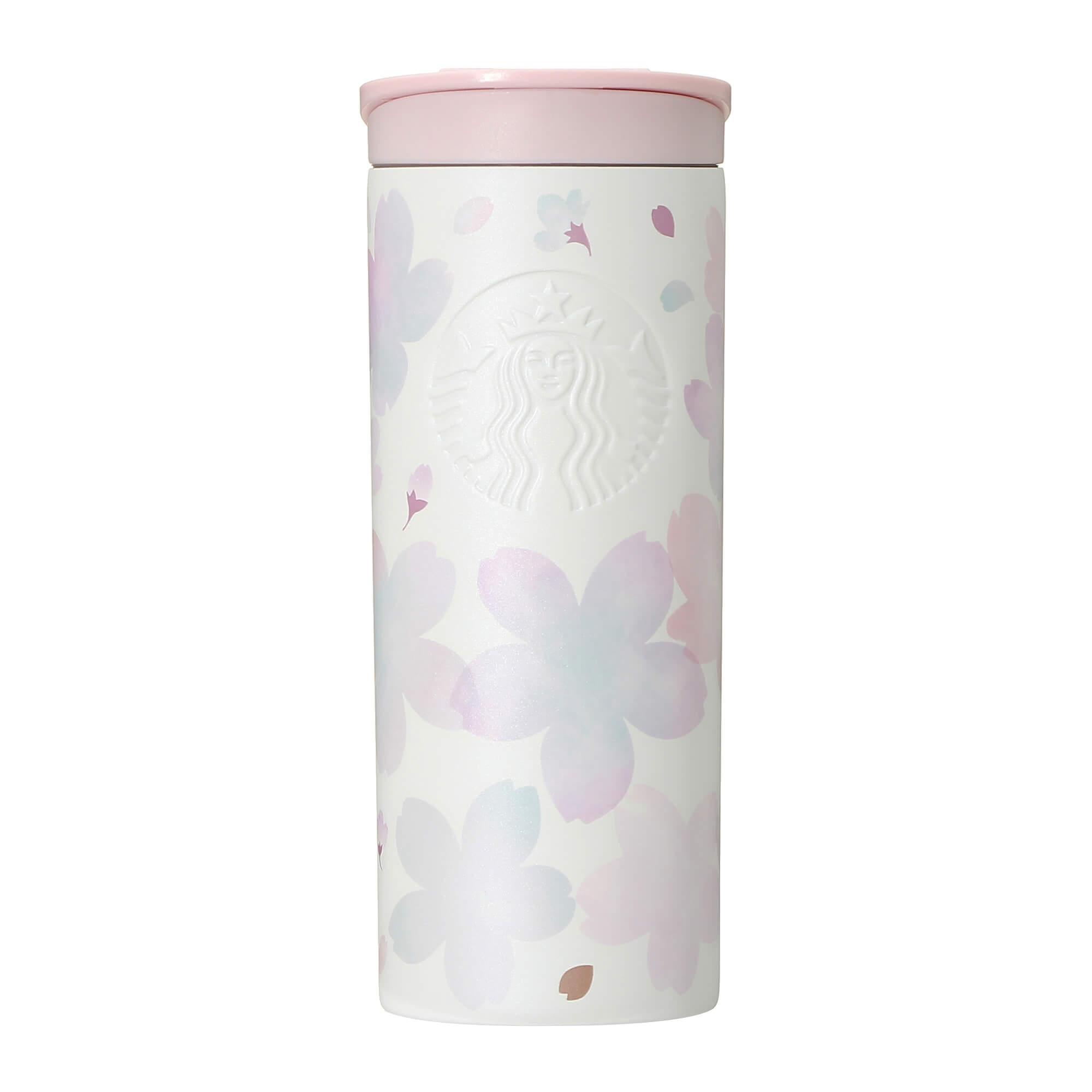 Starbucks Japan Sakura 2021 Stainless Bottle White Breath